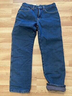 $19.90 • Buy New Red Head Fleece Lined Denim Jeans Mens Size 32 X 30 Straight