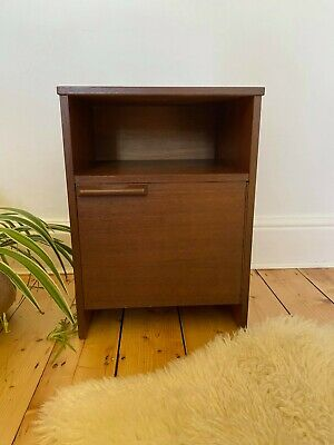 £50 • Buy Mid Century Bedside Table In Teak Or Afromosia Vintage Retro