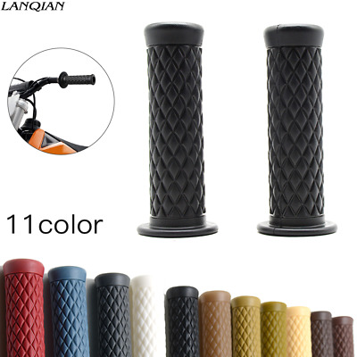 $6.99 • Buy  7/8 22mm Silicone Motorcycle Dirt Bike Grips Handlebars End Hand Bar Cafe Racer
