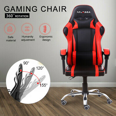 AU95 • Buy Gaming Chair Office Chair Computer Executive Leather Chair Executive Racing Seat