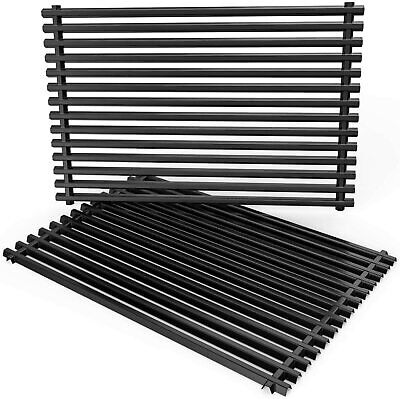 $ CDN102.91 • Buy Porcelain Enameled Steel Replacement Cooking 2x Grill Grid Grates Weber 2 Units