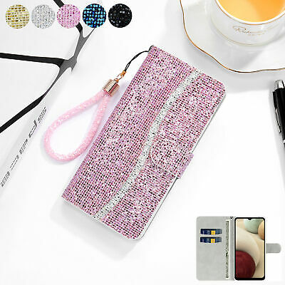 AU12.66 • Buy For IPhone 13 Pro Max XR XS Max 13 6S 7 8Plus Luxury Glitter Leather Wallet Case