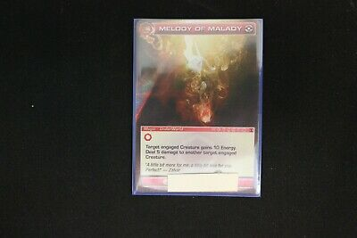 AU2.10 • Buy Chaotic Card Melody Of Malady Ripple Foil