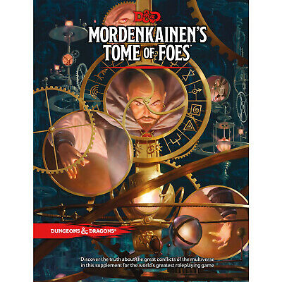 AU59.50 • Buy D&D Mordenkainen's Tome Of Foes - Hardcover 5th Edition Book Dungeons & Dragons
