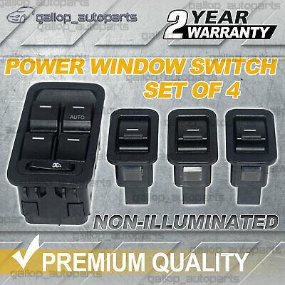 AU45 • Buy For Ford Territory SX SY SZ Master +3 Single Power Window Switch Non-illuminated