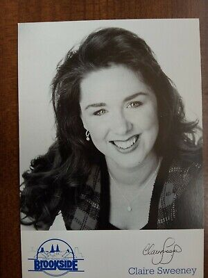 £6.99 • Buy CLAIRE SWEENEY *Lindsey Corkhill* BROOKSIDE PRE-SIGNED AUTOGRAPH CAST CARD