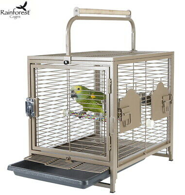 £84.99 • Buy Rainforest Traveller Parrot Transport Carrying Cage African Grey Carrier 5812