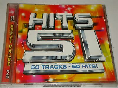 £1.99 • Buy Hits 51 - The Greatest Hits Of 2001 - 50 Tracks On 2 X CD Set