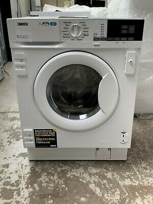 £470 • Buy Zanussi Z716WT83BI Integrated 7Kg/4Kg Washer Dryer A Rated UK DELIVERY #RW22633