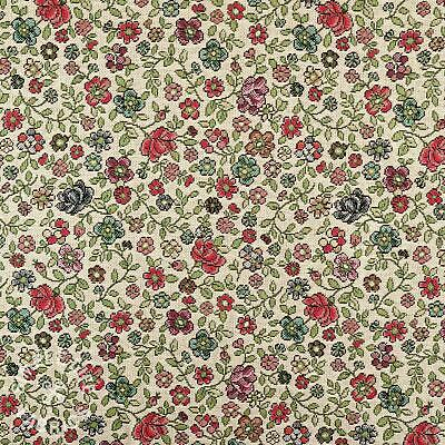 £6.95 • Buy Ditsy Floral Tapestry Fabric, Upholstery And Crafts - Per Half Metre