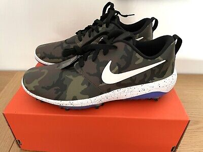 £89.90 • Buy Nike Roshe G Tour NRG Camo Camouflage Golf Shoes Trainers Size UK 8.5