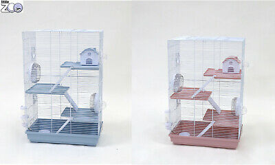 £44.99 • Buy Little Zoo Holly Hamster Cage 3 Tier Small Animal Hamster Cage 2 Colours