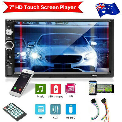 AU75.99 • Buy 7  Double 2 DIN Head Unit Car Stereo MP5 Player Touch Screen Radio FM/USB/AUX