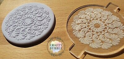 £4.25 • Buy Pretty Delicate Pattern Cupcake/cookie/biscuit Fondant Icing Acrylic Embosser