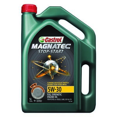 AU45 • Buy Castrol MAGNATEC 5W-30 Stop Start Full Synthetic Engine Oil 5L 3396960 Fits A...