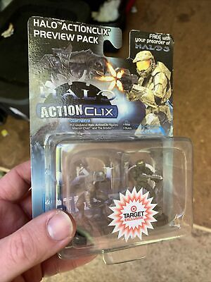 £7.26 • Buy Halo ActionClix Master Chief & Arbiter Figure Preview Pack Target Exclusive 2007