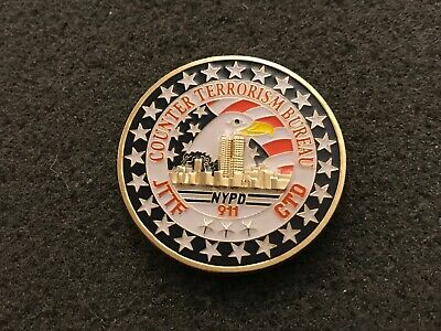£7.24 • Buy Nypd Counterterrorism Division Challenge Coin