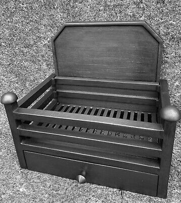 £120 • Buy Cast Iron Fireplace / Fire Basket / Victorian Style / Solid Fuel