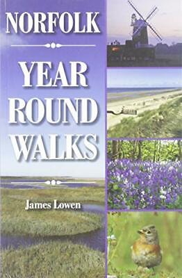 £8.79 • Buy Norfolk Year Round Walks By James Lowen, NEW Book, FREE & FAST Delivery, (Paperb