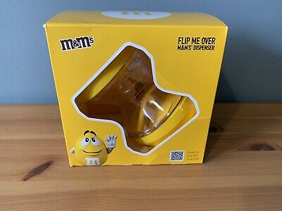 £6.95 • Buy M&M's Flip Me Over Dispensers Yellow Chocolate Sweet Easter Gift Shaker MM