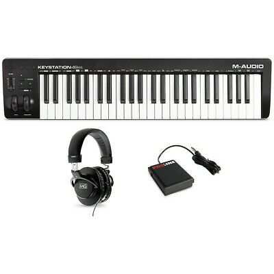 $149.99 • Buy M-Audio Keystation 49es MK3 Controller With Sustain Pedal And Headphones