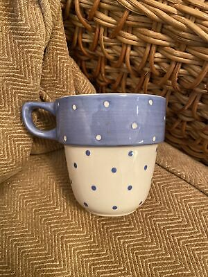 £12.99 • Buy M&S Blue Spotty Stacking Mug Spare Replacement