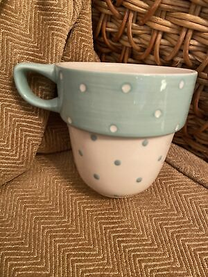 £12.99 • Buy M&S Turquoise Spotty Stacking Mug Spare Replacement