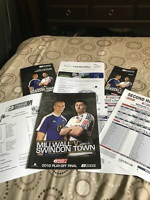 £9.99 • Buy 2010 League 1 Play Off Final Millwall V Swindon Town Special Pack Mint Condition