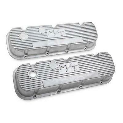 $168.95 • Buy Holley 241-87 M/T Valve Covers BBC Engines, Natural Cast Finish