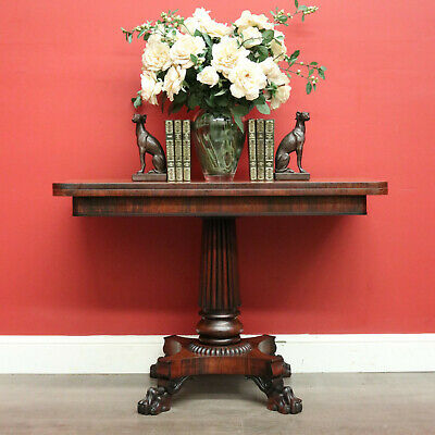 AU1650 • Buy Antique English Rosewood Fold Over Breakfast Table, Games Table, Card Table