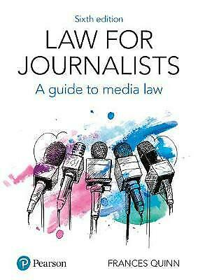 £34.44 • Buy Law For Journalists, Frances Quinn,  Paperback