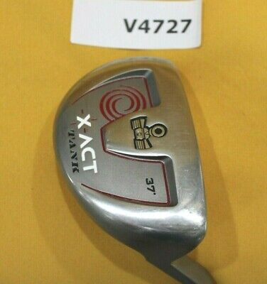 AU167.36 • Buy Odyssey X-Act Tank 37º 36  Chipper Wedge Putter Heel Shafted Golf Club V4727