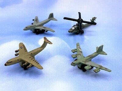 £9.35 • Buy Funrise Micro Action Super Jets Army Helicopter B52 Bomber 747 Aircraft Lot #5