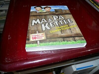 $13.43 • Buy Ma And Pa Kettle: Complete Comedy Collection [New DVD] Slipsleeve Pack FREE SHIP