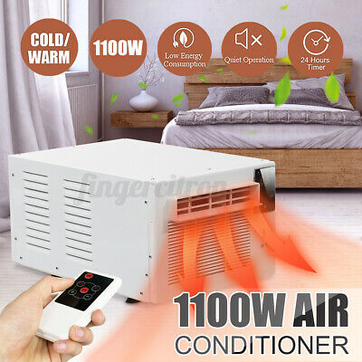 AU215.89 • Buy 1100W Air Conditioner Window/Wall Heater Heating Winter Cooler Dehumidification