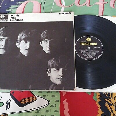£18.56 • Buy With The Beatles PMC1206 5N/5N Mono VG+/VG-