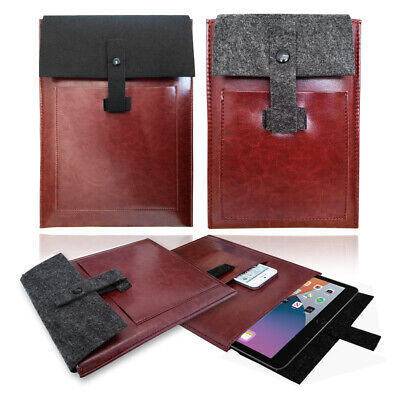 £5.95 • Buy Vintage Leather Travel Case Cover Sleeve Bag For Apple IPad, Pro, Air, Mini