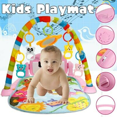 £12.07 • Buy 3 In 1 Foldable Baby Kid Play Mat, Kick And Play Piano Play Gym ,Musical Activit