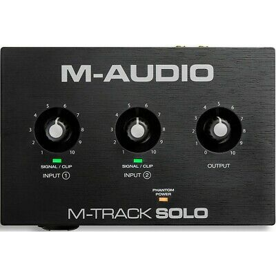 $49 • Buy M-Audio M-Track Solo 2-Channel USB Audio Interface