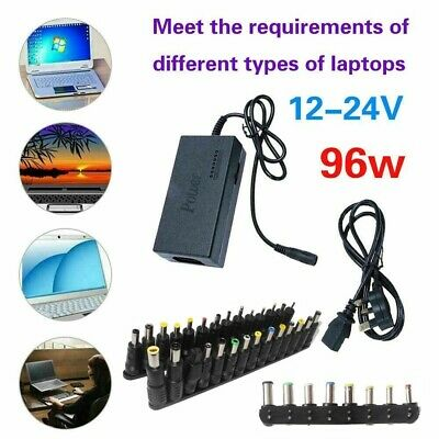 £13.79 • Buy Universal 96W 34/28Tips Power Supply Charger For PC Laptop Notebook Power Adapte