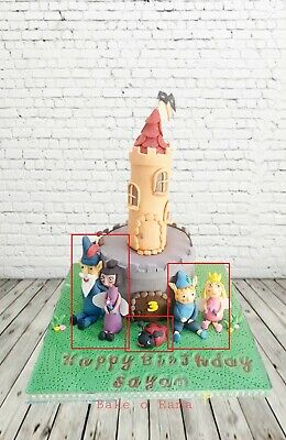 £29.99 • Buy Nanny Plum, Wise Old Elf , Gaston Lady Bug ,Ben And Holly - Edible Topper