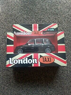 £1.50 • Buy London Taxi Black Cab British Dad Diecast Model Toy With Pullback Action Wheels