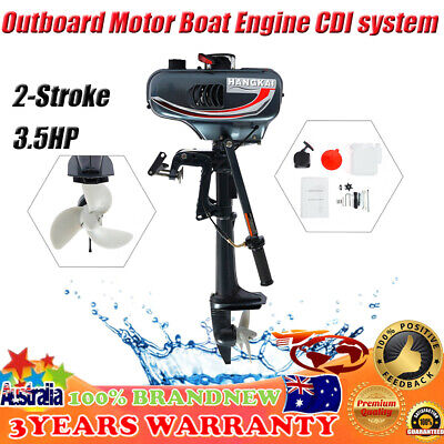 AU326.99 • Buy 2-Stroke 3.5HP Outboard Motor Boat Engine CDI System Fishing Boat Engine 10km/h