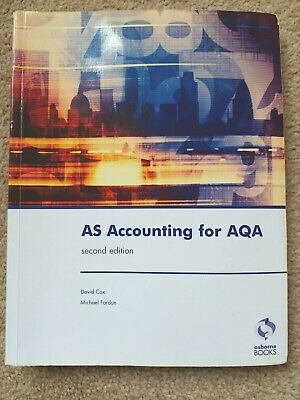 £4.99 • Buy AS Accounting For AQA Second Edition By Fardon, Michael Paperback Book