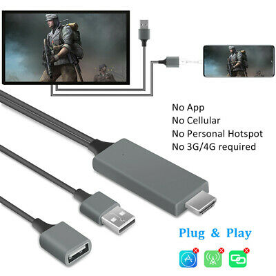 $ CDN13.29 • Buy 1080P HDMI Cable Video Converter HDTV Phone To TV Adapter For LG/Samsung/Android