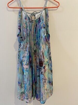 AU10 • Buy Forever New Trapeze Halter Dress, Size 10