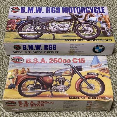 £153.39 • Buy Airfix BSA 250cc C15 And BMW R69 MOTORCYCLE Model Kits #16814
