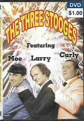 £4 • Buy The Three Stooges DVD NEW And SEALED Larry Curly Moe Works UK Slim Case
