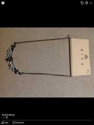 £5 • Buy Miss Selfridge Diva Sparkly Necklace On Chain New