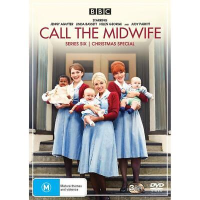 Call The Midwife: Series 6 | Includes Christmas Special DVD | Region 4 & 2 • 15.56£